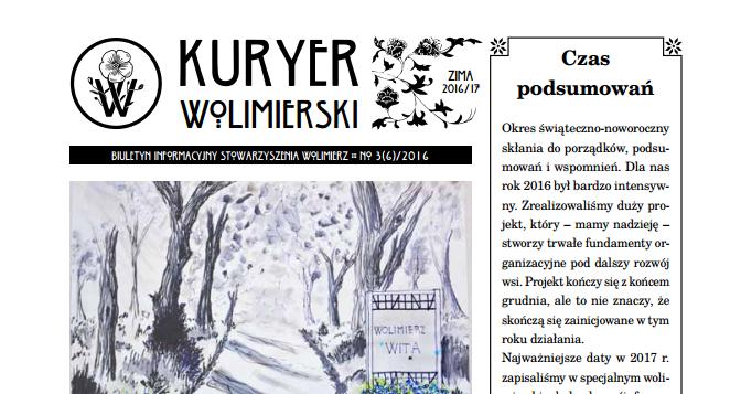 Zimowy Kuryer Wolimierski